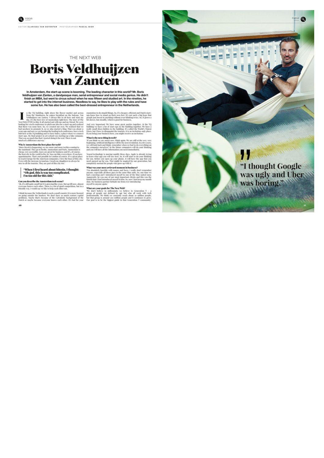 Boris Veldhuijzen van Zanten - Hello Amsterdam